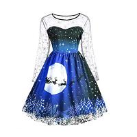 halloween swing dress