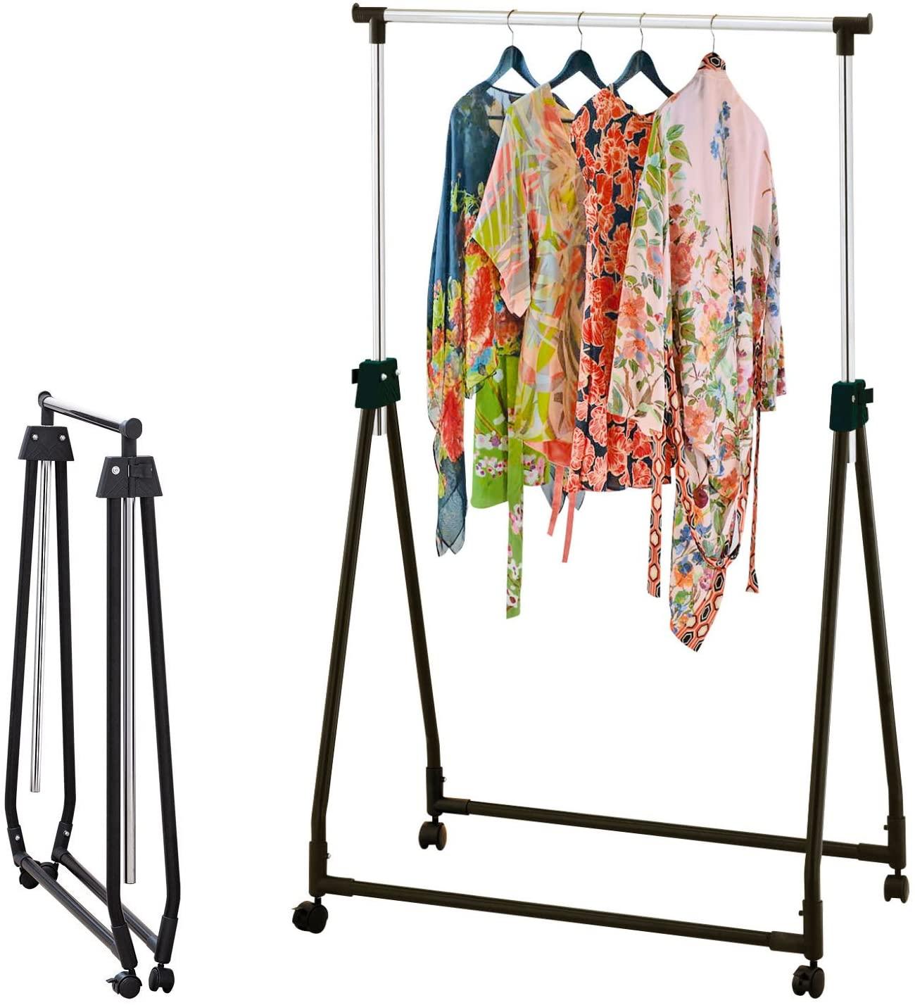 Portable Garment Cloth Rail