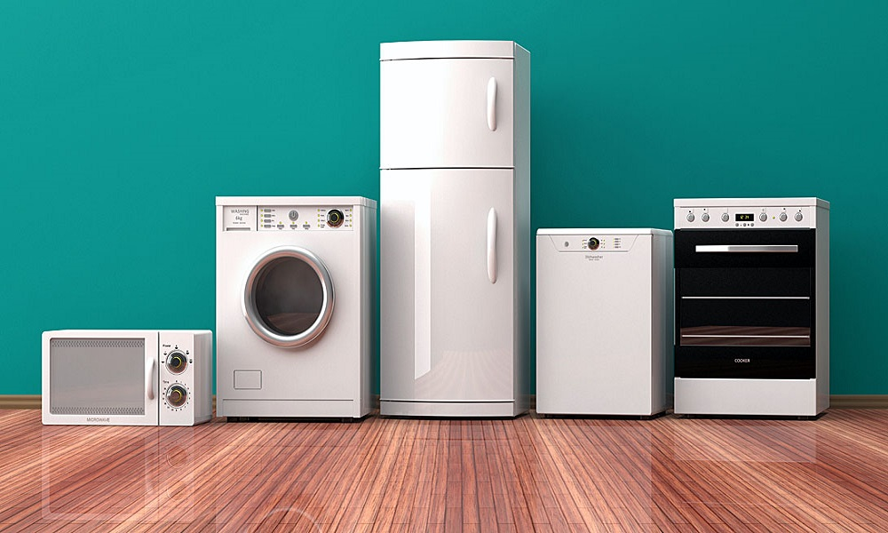 How to arrange common household appliances