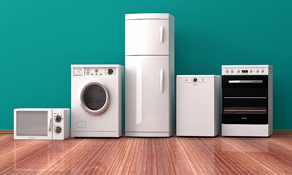 How to arrange common household appliances