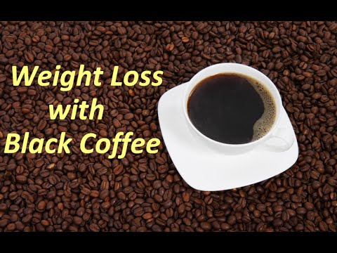 black coffee for weight loss