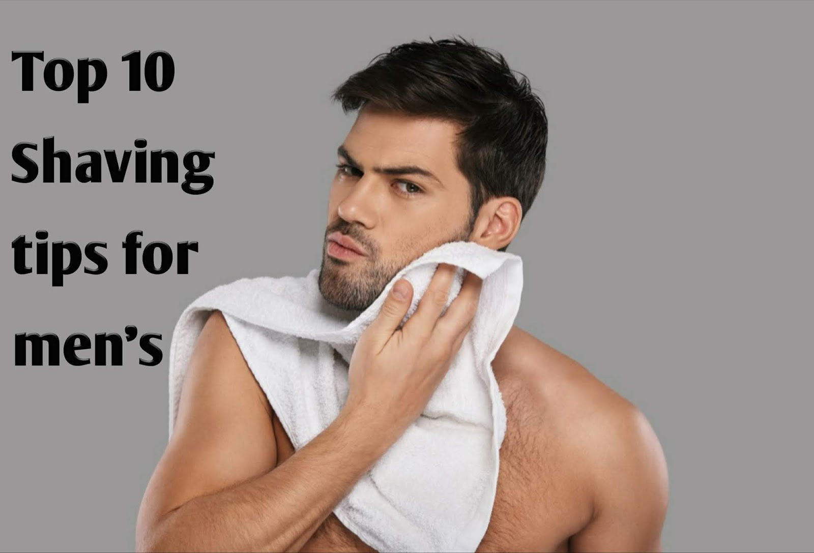 best shaving tips for men and women