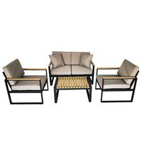 Extrusion Aluminium Lounge Set