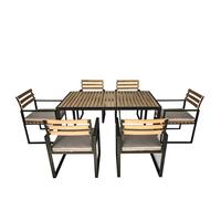 Polywood and Extrusion Aluminium Dining Set