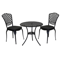 Cast Aluminium Bistro Table And Chairs Set