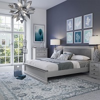 Essentials Double Bed White