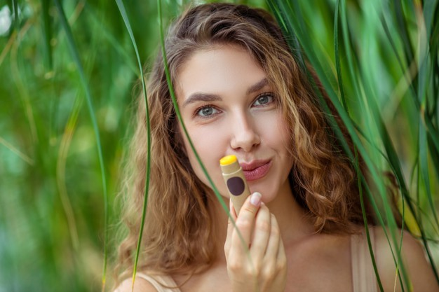 Lip balm the naturally derived cosmetic product