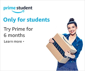 Start your 6-month trial at student prime