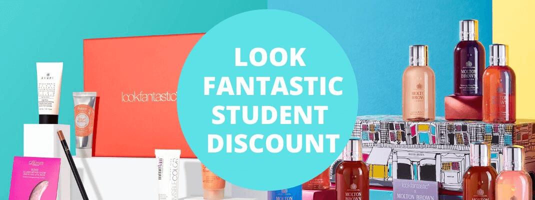 look fantastic student discount code