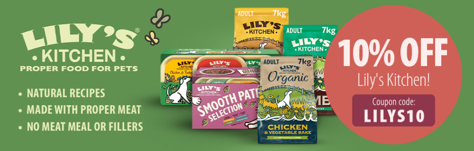 10% off Lily's Kitchen Zooplus promo code